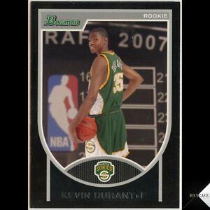 Kevin Durant Rookie 2007-08 Bowman Rookie RC /2999 #111 Brooklyn Nets