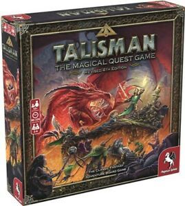 Talisman Board Game 4th Edition Revised