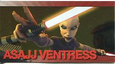 Star Wars Clone Wars Widevision Foil Character Chase Card #10