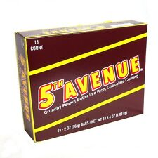 5th AVENUE Candy Bars -18ct box Retro Candy FREE Shipping