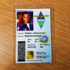SeaQuest DSV Id Badge - Commander Jonathan Ford Cosplay prop costume