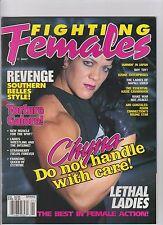 Fighting Females magazine Spring  1998 wrestling boxing CHYNA