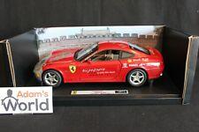"Hot Wheels Elite Ferrari 612 Scaglietti 1:18 red, ""15.000 Red Miles"" (PJBB)"