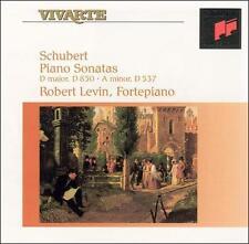 SCHUBERT: PIANO SONATAS D.850 & D. 537 NEW CD