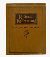 Ida McLenan CUTLER / RATIONAL TYPEWRITING HIGH SCHOOL EDITION NEW IDEA 1st 1916