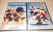 Lot of 2 Grown Ups 1 & 2 Adam Sandler Chris Rock   DVD WS  No Digital  NEW