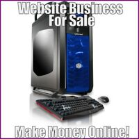Fully Stocked DESKTOP COMPUTERS Website Business|FREE Domain|Hosting|Traffic