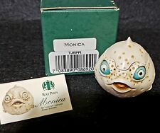 Harmony Kingdom Monica Roly Polys Puffer Fish Box Figurine Retired Tjrpfi Uk Nib