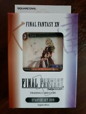 Final Fantasy TCG XIV Starter Deck Brand New English