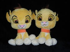 Due Disney Simba Peluche RE LEONE TRAPUNTE Posh Paws x 2