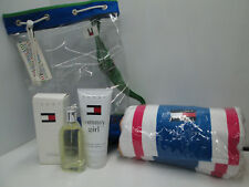 """TOMMY GIRL-TOMMY HILFIGER"" PROFUMO DONNA COLOGNE100ml SPRAY+BODY WASH+TELO MARE"