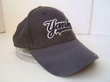 New York Yankees Hat Black Worn Hook Loop Baseball Cap Genuine Merchandise