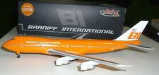 Jet-X  1:400      Braniff Airways 747-100   -  JX058  Orange