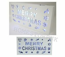 Wooden Christmas Wall & Hanging Decorations