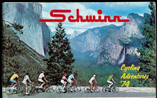 1974 Schwinn  Cycling Adventures Bike Bicycle Catalog Sting Ray & Accessories