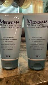 Mederma Stretch Marks Therapy with Cepalin Hyaluronic acid 2 pack 5.29 oz NO BOX