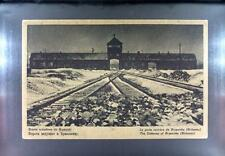 CPA Poland 1948 Auschwitz Concentration Camp Holocaust Konzentrationslager 33