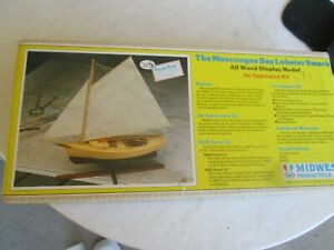 Midwest Products Co. The Muscongus Bay Lobster Smack All Wood Display Model