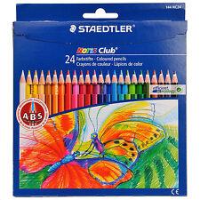 Staedtler 24 Colouring Pencils Noris Club Art Artist Drawing Coloured Pencil Set