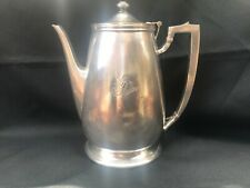 """Vintage Fairmont Hotel Silver Plated Heavy 9.25"""" Coffee Pot"""