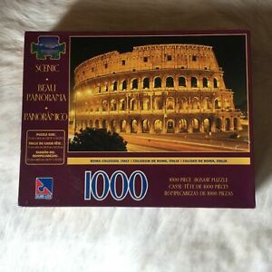 Scenic ROME COLOSSEUM ITALY Jigsaw Puzzle 1000 Pieces ARCHITECTURE ART