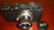Russian Leica Copy D.R.P. ERNST LEITZ WETZLAR WW2 Vintage 35MM Camera SN139516
