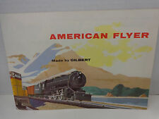 1955 American Flyer Made by Gilbert Catalog New