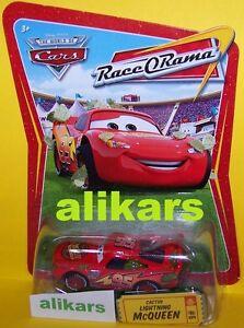 R - CACTUS Light McQueen -#6 Race O Rama Collection ROR series Disney Cars carro