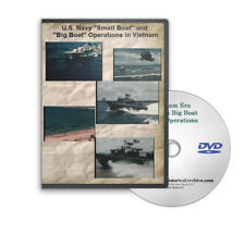 """U.S. Navy """"Small Boat"""" and """"Big Boat"""" Operations in Vietnam C789"""
