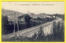 cpa 52 ANDELOT BLANCHEVILLE (Haute Marne) Vue Panoramique CHEMIN de FER Village