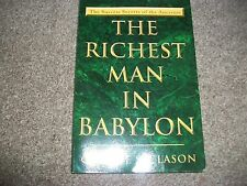 THE RICHEST MAN IN BABYLON by George Clason Printed in the USA  paperback