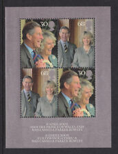 2005 ROYAL WEDDING MINIATURE SHEET SGMS2531 UNMOUNTED MINT