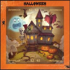 Austria 2013 Halloween/Ghost/Dracula/Pumpkin/Bats/Cartoons/Animation m/s at1046j