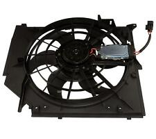 RADIATOR COOLING FAN ASSEMBLY FIT BMW 3 SERIES E46, 17117525508, 17117561757