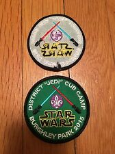 Boy Scout STAR WARS Patch from UK Cub Camp Event