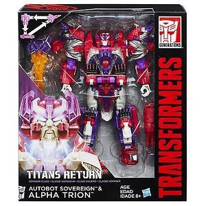 Transformers Titans Return Voyager Class Autobot Sovereign & Alpha Trion Hasbro