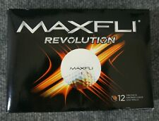 Maxfli 'Revolution' Box of 12 Two Piece Ionomer Cover Golf Balls - New in Box