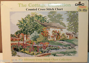 Cottage Collection Counted Cross Stitch Chart PC120 Rose Cottage John Hassall