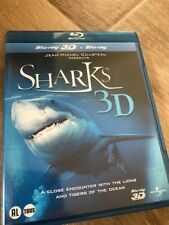 Blu-Ray - 3D - DOCUMENTAIRE - SHARKS - Etat neuf