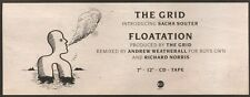 30/6/90Pgn35 Advert: The Grid New Single floatation East West Records 4x11