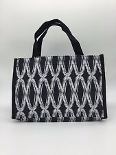 NEW Thirty one all in one Organizer mini tote bag in black link purse 31 retired
