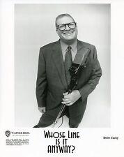 DREW CAREY SMILING PORTRAIT WHOSE LINE IS IT ANYWAY? ORIGINAL 2000 ABC TV PHOTO