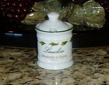 APILCO France Moutarde de Dijon Mustard Jar Pot ~ Lameloise Hotel Restaurant