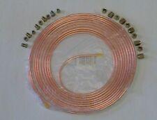 """3/16"""" EASY FLARE Copper Brake Tubing + 20 Brake Nuts"""