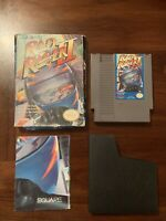Rad Racer II (Nintendo Entertainment System) NES Authentic Game