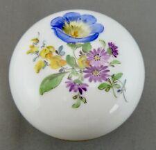schöne Porzellan-Dose  Meissen