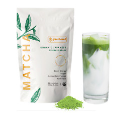 Greenboxed Matcha Green Tea Powder - Japanese, Organic **CULINARY GRADE 3.5oz.**