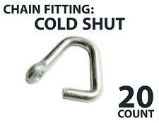 Bulk Cold Shut Chain Repair Link 3/16 1/4 5/16 3/8 1/2 5/8 Universal Rigging