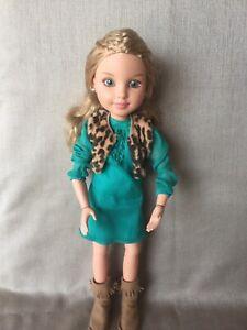 "BFC Best Friends Club Ink Kristen 18"" Dressed Articulated Doll Fantastic!"