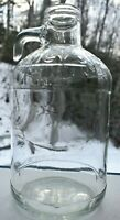 Vintage Staley's Embossed Glass Jug